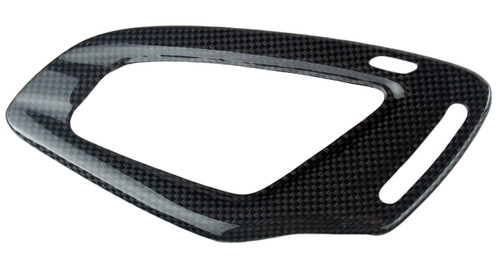 Instrument Cover in Glossy Twill Weave Carbon Fiber for MV Agusta F3, Brutale 675/800