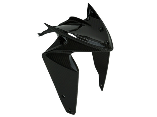 Front Fender Lower Part in Glossy Twill Weave Carbon Fiber for MV Agusta Rivale 800