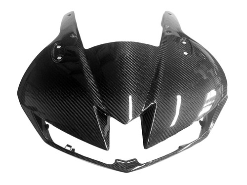 Front Fairing in Glossy Twill Weave Carbon Fiber for Honda CBR600RR 2013+