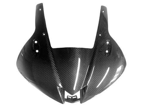 Front Fairing in Glossy Twill Weave Carbon Fiber for Honda CBR600RR 2013+