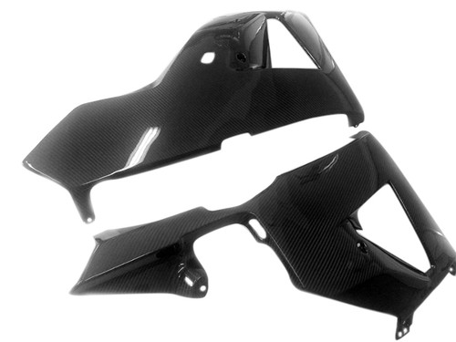 Belly Pan in Glossy Twill Weave Carbon Fiber for Honda CBR600RR 2013+