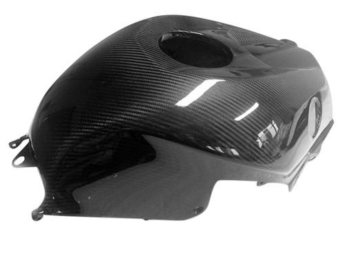 Tank Cover in Glossy Twill Weave Carbon Fiber for Honda CBR600RR 2013+