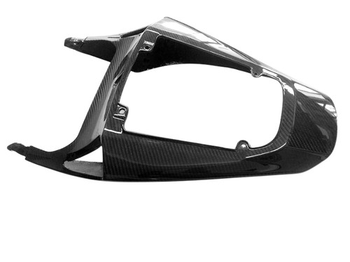 Seat Section in Glossy Twill Weave Carbon Fiber for Honda CBR600RR 2013+