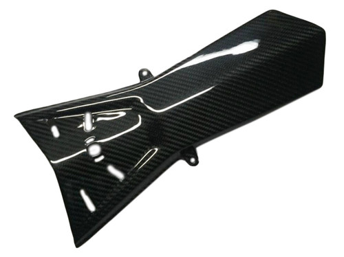 Under Tail in Glossy Plain Weave Carbon Fiber for KTM 1290 Super Duke R