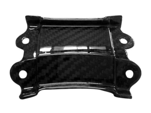 Rear Tail Middle Small Piece in Glossy Twill Weave Carbon Fiber for Suzuki GSX1300 R Hayabusa 2008-2017