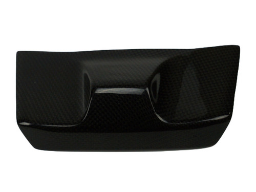 Key Guard Cover ( Euro version) in Glossy Twill weave Carbon Fiber for Ducati Multistrada 950, 1200 2015-2017