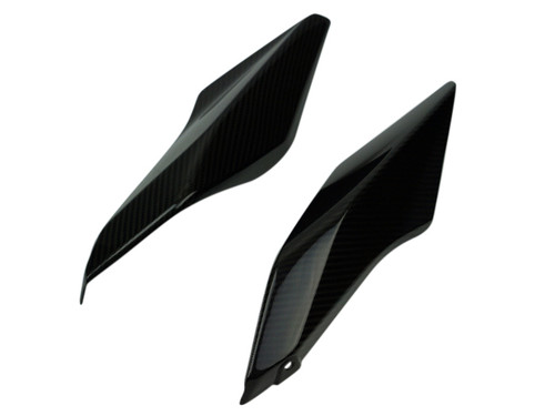 Tail Fairings in Glossy Twill Weave Carbon Fiber for BMW R1200R, RS 2015+
