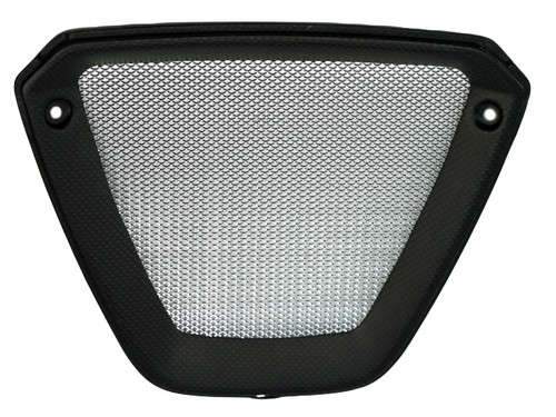 Belly Pan Grille in Mate Plain Weave Carbon Fiber for Ducati XDiavel
