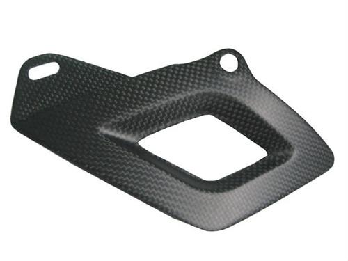Matte Plain Weave Carbon Fiber Lower Chain Guard for Aprilia RSV4 2009+, Tuono V4 2011+