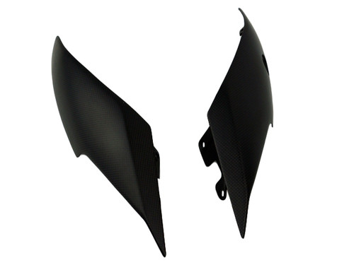 Tail Fairings in Matte Plain Weave Carbon Fiber for Ducati XDiavel