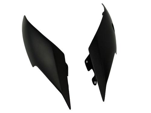Tail Fairings in Matte Plain Weave Carbon Fiber for Ducati XDiavel