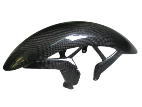 Front Fender in Glossy Plain weave Carbon Fiber for Cagiva Raptor