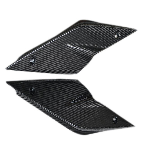 Tail Side Fairings in Matte Twill Weave Carbon Fiber for KTM 1290 Super Duke R 2014-2016