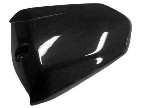 Seat Cover in Glossy Twill Weave Carbon Fiber for KTM 1290 Super Duke R