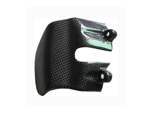 Glossy Plain Weave Carbon Fiber  shown.Clutch Cover for BMW K1200R, K1200S,K1300R, K1300S