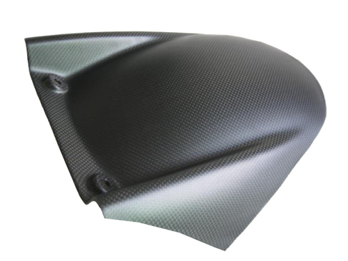 Matte Plain Weave Rear Hugger for Aprilia RSV4 2009+, Tuono V4 2011+