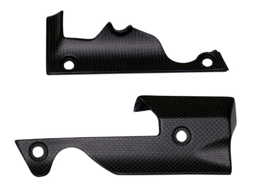 Small Side Panels in Matte Plain Weave Carbon Fiber for Ducati XDiavel