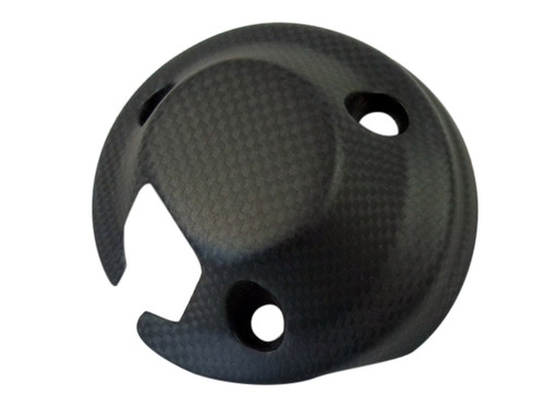 Cockpit Cover in Matte Plain Weave Carbon Fiber for Ducati Scrambler