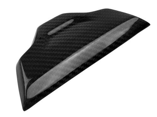 Small Piece on Tail Section in Glossy Twill Weave Carbon Fiber for BMW S1000RR, S1000R 2015+