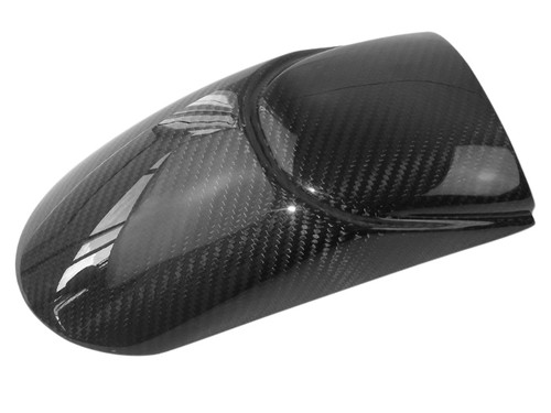 Front Fender Extension in Glossy Twill Weave Carbon Fiber for BMW K1200R, K1200S, K1300S