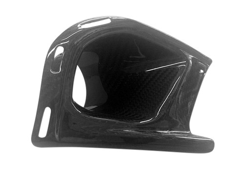 Air Intake Opening RH in Glossy Twill Weave Carbon Fiber for BMW K1300R