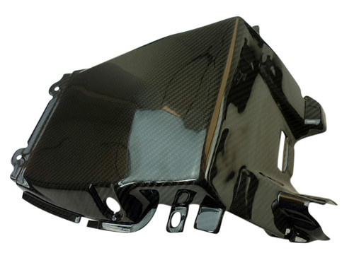 Underseat in Glossy Twill Weave Carbon Fiber for Buell XB9S,R,RX,XB12S,R,SX