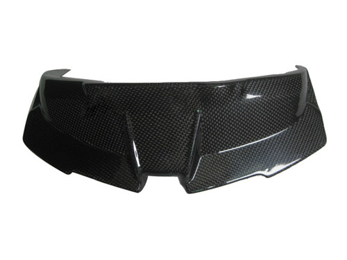 Glossy Plain Weave Carbon Fiber Instrument Cover for BMW K1300S