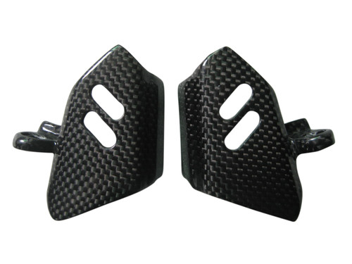 Injection Covers in Glossy Plain Weave Carbon Fiber for Suzuki GSF1250 2007-2010