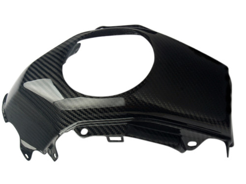 Tank Cover in Glossy Twill Weave Carbon Fiber for Honda Grom MSX 125 2013-2016