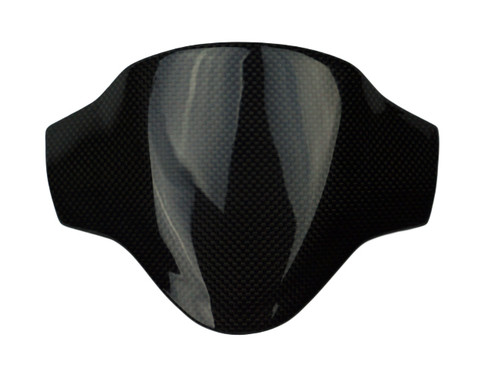 Cockpit Cover in Glossy Plain Weave Carbon Fiber for Honda Grom MSX 125