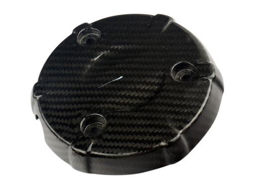 Engine Cover RH in Glossy Twill weave Carbon Fiber for Honda Grom MSX 125