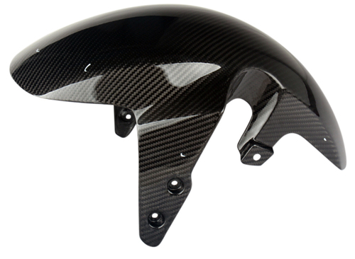Front Fender in glossy twill weave Carbon Fiber for Honda Grom MSX 125 2013-2016