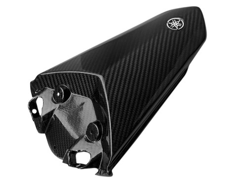 Seat Cowl in Glossy Twill Weave Carbon Fiber for Yamaha R1 2015+ (logo not included)