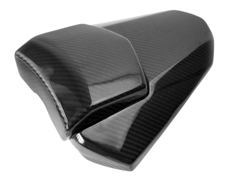 Seat Cowl with Pad in Glossy Twill Weave Carbon Fiber for Yamaha R6 08-16