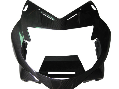 Glossy Plain Weave Carbon Fiber Top fairing for BMW K1300S