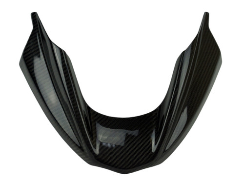 Front Fender /Beak Extension in Glossy Twill Weave Carbon Fiber for BMW R 1200 GS & ADVENTURE 08-12