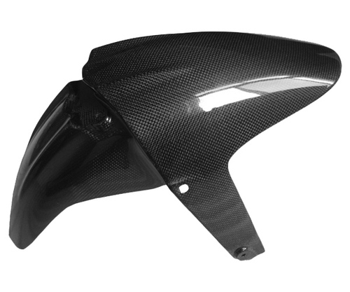 Front Fender for BMW R1200R in Glossy Plain Weave Carbon Fiber