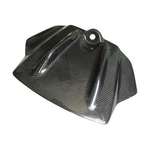Glossy Plain Weave Carbon Fiber Tank Front Cover for Aprilia RSV4 2009-2012, Tuono V4 2011-2013