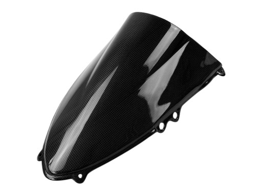 Windshield backside(Both Sides Finished) in Glossy Plain weave Carbon Fiber for Ducati Panigale 899, 1199