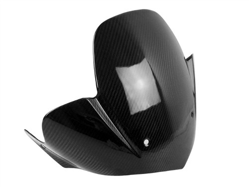 Windshield (Both Sides Finished) in Glossy Twill weave Carbon Fiber for BMW K1200R, K1300R, HP2
