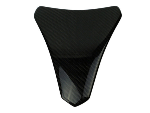Tank Pad in Glossy Twill weave Carbon Fiber for Kawasaki ZX10R 2011+