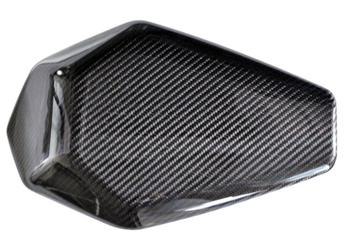 Seat Cowl in Glossy Twill Weave Carbon Fiber for Kawasaki ZX10R 2016+