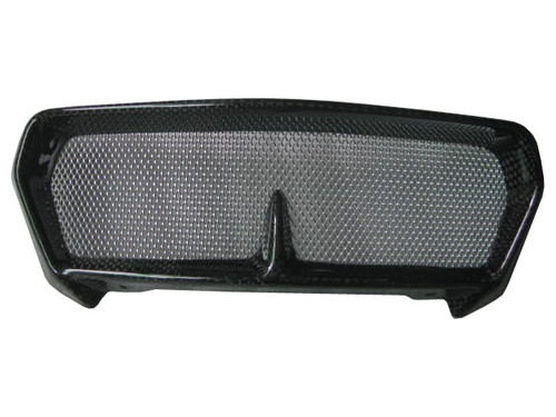 Glossy Plain Weave Carbon Fiber Oil cooler cover for BMW K1300R, K1200R