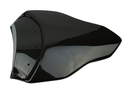 Seat Cover in Glossy Plain weave Carbon Fiber for Ducati Streetfighter 1098S