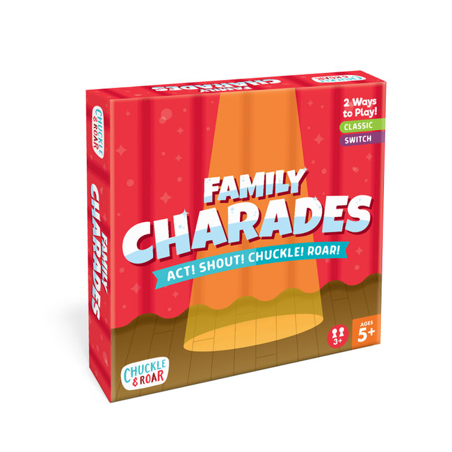 Family Charades Game Box