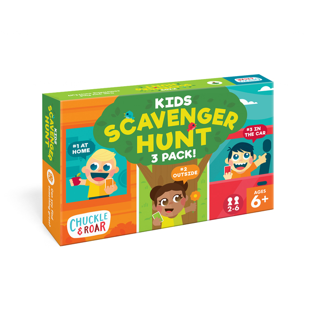 Kids Scavenger Hunt Game Box