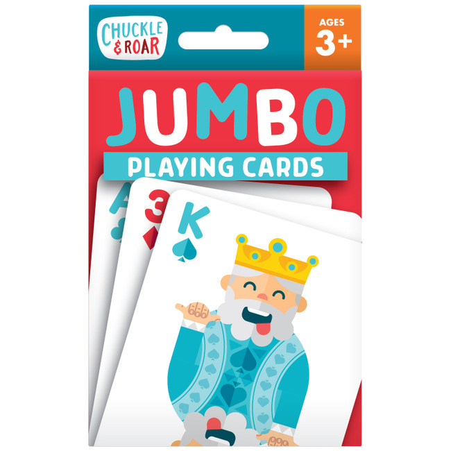 Jumbo Kids Playing Cards Front