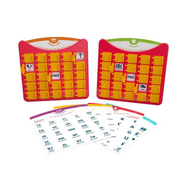 Travel Bingo - Portable Bingo Game
