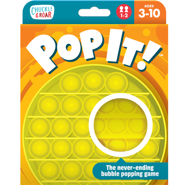 Pop It!- 2 Player Strategy Game Box