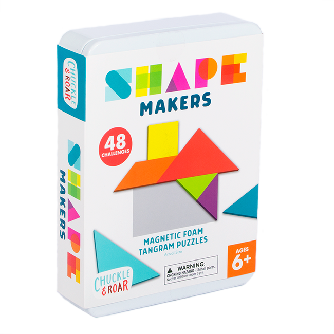 Shape Makers- Magnetic Foam Tangrams Box